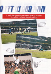 Tottenham Hotspur vs Norwich City - 1992 - Page 37 (The Sky Strikers) Tags: road city white cup spurs one official lane norwich hart to pound league tottenham wembley fifty programme hotspur rumbelows