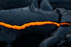 Lava Crack (Raiatea Arcuri) Tags: flow kalapana volcano hawaii lava heat bigisland kilauea