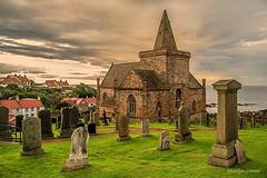 Stormy skies (MC Snapper78) Tags: building church graveyard architecture clouds scotland fife stmonans firthofclyde eastneuk nikond3300 marilynconnor stmonansparish