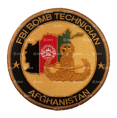 FBI Bomb Technician - Afghanistan (GMAN) (Nate_892) Tags: fbi bomb technician afghanistan gman federal bureau investigation patch explosives war special agent