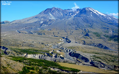 Photo Mount St. Helens United States (billypoonphotos) Tags: crater rim steam lava dome mount st helens saint stratovolcano volcano skamania county washington united states state usa cascade range volcanic pacific ring fire ash pyroclastic flow 1980 david johnston ridge observatory blast zone route 504 usgs eruption nikon d5200 1685mm lens photo picture photographer photography billypoon billypoonphotos cougar mountainside