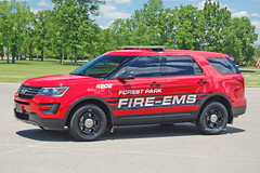 Forest Park - Car 4202 (kyfireenginephoto) Tags: colerain greenhills suv staffcar hamiltoncounty springdale fpfd ford ohio fairfield fire springfield oh explorer chief