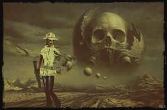 End of Time (alexandra wardark) Tags: colordefaultcolorssubtlefogvogue fantasy secondlife sl desert wewanttobefree