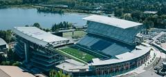 Husky Stadium (bigdaddykc_1999) Tags: ovo r22 seattle snyderroofing wa aerial aerials city construction sunny urban