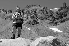 Taking a good look...... (McCoy352) Tags: mountains looking seeking satisfaction hiking mountrainiernationalpark washington glacierbasintrail fun pacificnorthwest