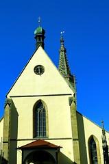 Hauptportal mit italienischem Pforten Vordach (eagle1effi) Tags: sx60 dom sankt martin rottenburg westportal basilica domzurottenburgamneckar kathedrale wrttemberg germany