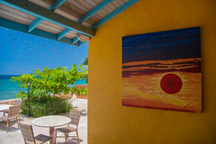 _JAM7444 (Jamil D750) Tags: jamaica smoked marlin sunny ocean beach oceanview view restaurant tropical blue sky waves nikon nikond750 green yellow orange stone