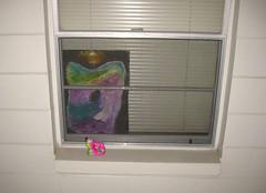 Urban Gifting (giveawayboy) Tags: imaginaltorso window treatment display installation tampa artist giveawayboy billrogers microartshow urban gifting habituation