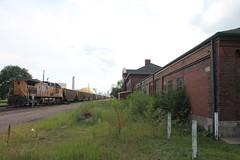 UP 6011 (CC 8039) Tags: up trains dpu ac44cw passenger depot clinton iowa