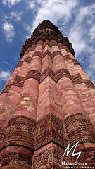Qutub Minar (Madhusudan dv) Tags: qutub minar mehrauli new delhi indoislamic architecture archaeological india