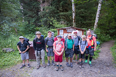 Bound for Adventure (Mark Griffith) Tags: 20160801dsc08122 alpinelakeswilderness backpacking fosslakeshighroute hike hiking mtbakersnoqualmienationalforest scouts sonya7rii traverse voigtlanderf4515mmiii washington flhrdayone