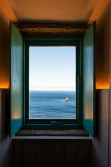 The window to the end of the world (basair) Tags: finisterre galicia window costadamorte ocean blue freedom spain coastline landscape scenics water seascape fisterra acorua