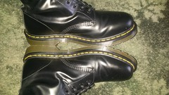 20160703_171809 (rugby#9) Tags: dm feet wear cushioned comfort sole cushion dms docmartens lace original soles bouncing doctormarten docs doc eyelets icon boots drmartensboots dr martens drmartens airwair air wair yellow stitching yellowstitching 10 hole 10hole size7 7 1490 black shoe footwear boot indoor