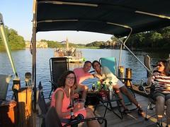 Laurette, Rich, and Julia at Lake Thoreau Boat Party (procktheboat) Tags: lakethoreau boatparty boatbash restonvirginia restonva