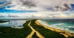 Two sides (eduardo.rodriguez87) Tags: ifttt 500px clouds original rated road sky water atlantic calm ocean path river rocks scene seascape serene storm trail trees waves beach sand sea seashore scenic tropical summer outdoors no person quintanaroo mexico mx