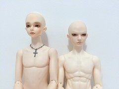 Luts Model Delf x Souldoll Kid NL 01 (Shuga Youko) Tags: msd bjd comparison luts model delf cian mdf souldoll kid joelle boy body ns