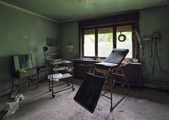 (Subversive Photography) Tags: house abandoned hospital dark scary belgium decay spooky equipment doctor horror derelict urbex operate danielbarter