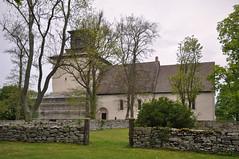 Vamlingbo kyrka, Gotland (Bochum1805) Tags: church kyrka kyrktorn kyrkogrdsmur