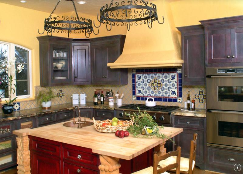 Hermoso cocinas talavera im genes talavera azulejos for Pegatinas azulejos cocina