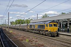 Gbrf 66738 Durham (Nigel Valentine) Tags: coast town durham main north line east huddersfield gbrf 66738