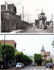 Marly-le-Roi de 1937 à 2015 (\Nicolas/) Tags: poste gare montage nouveau avenue ancien marlyleroi