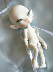 Silme Starlight by Charles Creature Cabinet (ok2la) Tags: white ball doll skin cabinet charles elf fairy tiny faery bjd ccc creature joint faerie ws starlight silme img2016070903757