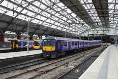 319374 Liverpool Lime Street (Paul Emma) Tags: uk england railway railroad liverpoollimestreet liverpool train 319374 185104 150268