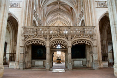 church of Brou..........interior (atsjebosma) Tags: brou church kerk bourgenbresse details interior interieur architectuur lafrance atsjebosma bogen 16thcentury 16deeeuw june juni 2016