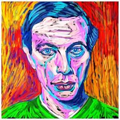 """""""kirchner"""" (alfie lee) Tags: alfielee alfieleeart alfieleepaintings digital painting art portrait kirchner brucke ernstludwigkirchner expressionism brcke"""