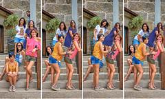 Xuntanza en Cambados (Pepe Fernndez) Tags: lupy raquel sonia mara paloma grupo fotodegrupo amigos amigas