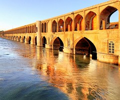 33-Bogen-Brcke in Isfahan (schaffer.walter) Tags: iran isfahan