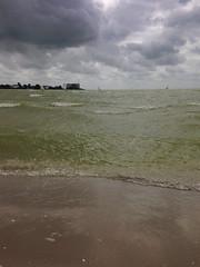 Makkum (YYNTL) Tags: water wolken fries cloudporn ijsselmeer waterland makkum windsurfen frisian vergezicht houw cornwerd kornwerderzand