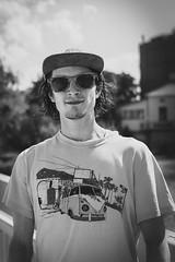 Stranger #15 - Ivo (Mirslav Hristff) Tags: 100strangers portrait street streetportrait streetphotography blackwhite bulgaria bw blackandwhite people sony