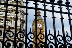 Behind Bars (Yannis_K) Tags: london bigben bars clocktower unusual view yannisk nikond7100 nikon35mmf18dx