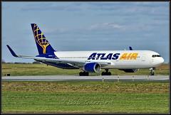 N645GT Atlas Air (Bob Garrard) Tags: n645gt atlas air boeing 767 bwi kbwi