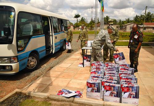 Logistic Soldiers ensure success of EA 2016