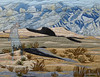 Bush_Drifters (JerilynnBush.com) Tags: landscape jerilynnbushfiberart fiberart cotton fused deathvalley desert rawedge