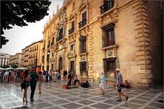Plaza Nueva et la Chancelleria, Granada, Andalucia, Espana (claude lina) Tags: claudelina espana spain espagne andalucia andalousie granada grenade ville town plaza plazanueva chancelleria