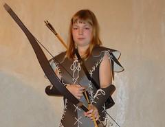 amazone (Lgendes Lorraines) Tags: diabloii amazon rogue archer fantasy armor bow larp
