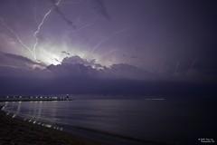 MC Storms IMG 03 (Tony Lau Photographic Art) Tags: michigan city indiana 2016 summer storms lake lightning clouds