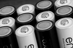 20160725_1533_7D2-100 Black/White, Positive/Negative, Up/Down (207/366) (johnstewartnz) Tags: macro macromonday opposites canon canonapsc apsc eos 7d2 7dmarkii 100canon 100mm 100mmf28lmacro 100mmmarcro battery batteries eneloop enelooppro whiteandblack positiveandnegative onephotoaday onephotoaday2016 project366 366the2016edition 3662016 day207366 25jul16 unlimitedphotos
