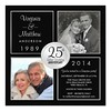 (25th Silver Wedding Anniversary Surprise Party Card) #2PhotosThenNow, #25Th, #25ThAnniversary, #25ThAnniversaryParty, #25ThWeddingAnniversary, #Anniversary, #BlackAndSilver, #Classic, #Classy, #CreateYourOwn, #Elegant, #Invited, #Milestone, #Paper, #Part (CustomWeddingInvitations) Tags: 25th silver wedding anniversary surprise party card 2photosthennow 25thanniversary 25thanniversaryparty 25thweddinganniversary blackandsilver classic classy createyourown elegant invited milestone paper photo silveranniversary silverweddinganniversary surpriseparty weddinganniversary is available custom unique invitations store httpcustomweddinginvitationsringscakegownsanniversaryreceptionflowersgiftdressesshoesclothingaccessoriesinvitationsbinauralbeatsbrainwaveentrainmentcom25thsilverweddinganniversarysurprisepartycard weddinginvitation weddinginvitations