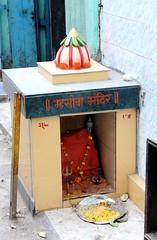 Mhasoba Mandir (Shrimaitreya) Tags: pune maharashtra india popularreligion mhasoba shiva streetshrine waysideshrine hindu hinduism