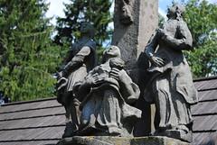 detail souso u kostela, Kamienczyk, Polsko (Ondra Brabec) Tags: detail souso staue kamienczyk polsko poland polska