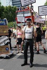 CSD Berlin, July 23, 2016 (ulo2007) Tags: berlin pride gaypride csd christopherstreetday prideparade gay lesbian queer leather gayleather leatherman fetish