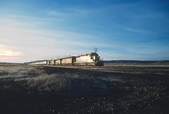 AT&SF 5039 in February 1989 (railfan 44) Tags: atsf santafe