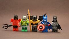 Batmen (th_squirrel) Tags: lego batman dc comics demon devil toxic guardian angel captain america metal robot
