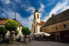 Szentendre, Hungary (Vadim Tsymbalyuk) Tags: szentendre hungary village church outdoor architecture town zuiko 24 sightseeing placeofinterest square