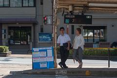 Waitng for a tram (White_Dragon_09) Tags: bauschlomb baltar 7523
