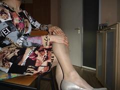 CIMG0402 (comicstar1) Tags: rossdresser pantyhose legs panty slip crossdresser